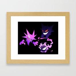 The Ghostly Trio Framed Art Print