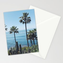 Laguna Beach Palms Stationery Cards
