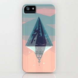 Enlightened Mountain iPhone Case