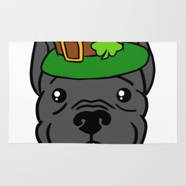 Leprechaun Pitbull - St. Patricks Day Rug