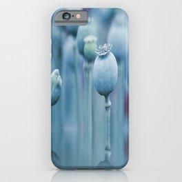 Poppy capsules blue style iPhone Case