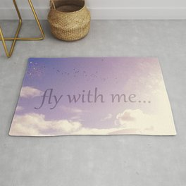 Fly with me Rug