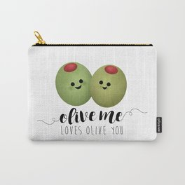 Olive Me Loves Olive You Carry-All Pouch