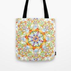Beaux Arts Flower Crown Tote Bag