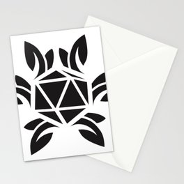 ripe jewel - black Stationery Cards