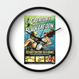 The Creature from the Black Lagoon Wall Clock