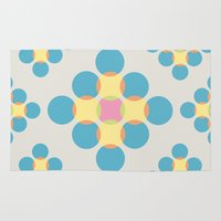 circles Area & Throw Rugs featuring Circles by LightCircle