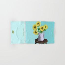 Sunflowers on Blues Hand & Bath Towel