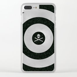 Silver Target Clear iPhone Case