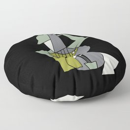 Music&alcohol Floor Pillow