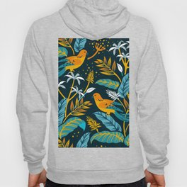 Birds in the night Hoody