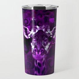 Closeup Purple Travel Mug