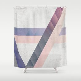 Unespected Geometry Shower Curtain