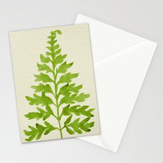 Lime Fern Stationery Cards