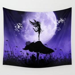Fairy Silhouette 2 Wall Tapestry