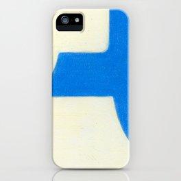 Driveway in Blue iPhone Case