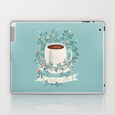 A Cup Of Joy Laptop & iPad Skin
