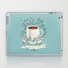 A Cup Of Joy Laptop & iPad Skin
