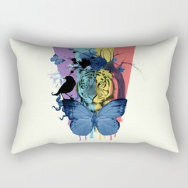 love the rainbow Rectangular Pillow