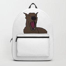 Yawning Dog Backpack