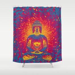 Crystal Buddha Shower Curtain