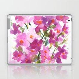 Pink Cosmos Bouquet Laptop & iPad Skin