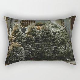 Bushwick Snow 2017 Rectangular Pillow