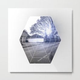 Graphic B9 Metal Print