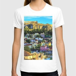 Daytime view of the Acropolis ruins; Athens, Greece T-shirt