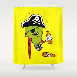 Stumpy Shower Curtain