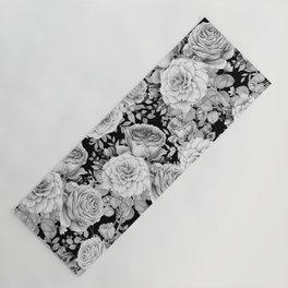 ROSES ON DARK BACKGROUND Yoga Mat
