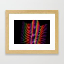 Light in motion two Framed Art Print