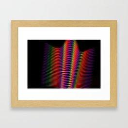 Light in motion two Framed Art Print