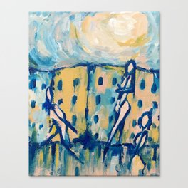Città vuota Canvas Print