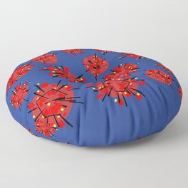 The Atomic Energy Commissioner Floor Pillow