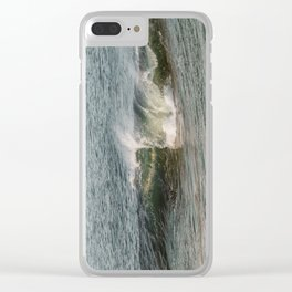Wave at Bearskinneck Clear iPhone Case