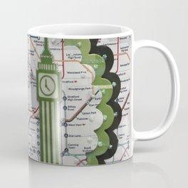 Awesome London Green Coffee Mug