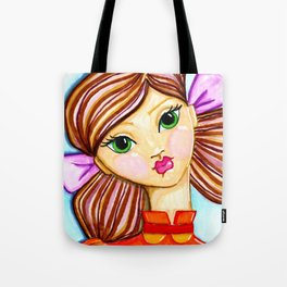 """""""buttons"""" by Dani Choate Tote Bag"""