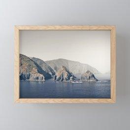 Marlborough Sound Framed Mini Art Print