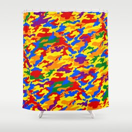 Homouflage Gay Stealth Camouflage Shower Curtain