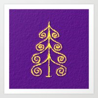 christmas tree Art Prints featuring Christmas Tree* by Mr and Mrs Quirynen