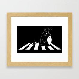 Ghibli Road Framed Art Print