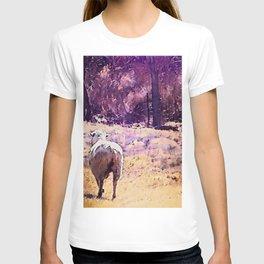 Lamb Frolic with Mama Ewe by CheyAnne Sexton T-shirt