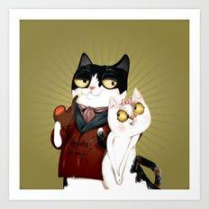 Swag Kat Art Print