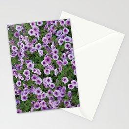Purple Flower Patch Stationery Cards