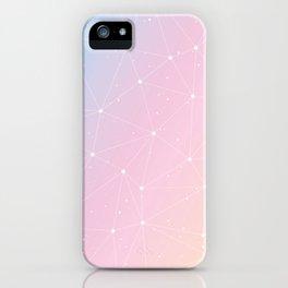 Rainbow Watercolor Astronomy iPhone Case