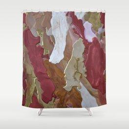 Deep Rich Something Shower Curtain