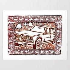 OLD MOBILE Art Print