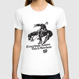 Neil Young And Crazy Horse Rock End Of The Trail Horse T-Shirts T-shirt