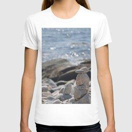Balancing Serenity Rocks T-shirt